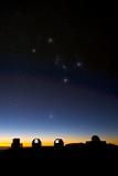 Orion And Observatories  Hawaii