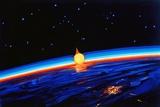 Sunrise In Space' by Leonov