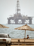 Caspian Sea Oil Rig