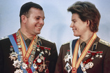 Yuri Gagarin And Valentina Tereshkova