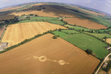 Crop Formation  Near East Kennett  Wiltshire