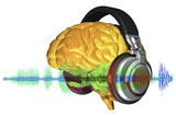 Brain with Headphones  Artwork