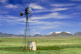 Windmill on Prairie Land  New Mexico