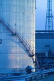 Oil Refinery Storage Tank