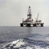 Caspian Sea Oil Rig