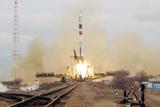 Soyuz TMA-14 Crew Before Launch