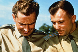 Soviet Cosmonauts Yuri Gagarin & Gherman Titov