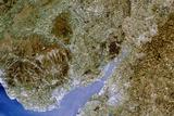 True-colour Satellite Image of Severn Estuary  UK