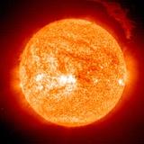 Solar Prominence  SOHO Image