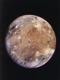 Voyager I Photo of Ganymede  Jupiter's Third Moon