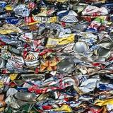 minium Recycling: Compressed Aluminium Cans