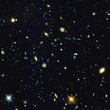 HST Deep-view of Several Very Distant Galaxies Papier Photo par NASA