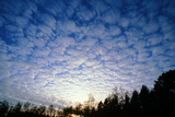 Mackerel Sky Altocumulus Clouds