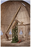 Great Equatorial Telescope Paris 1860