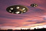 UFO Landing  Computer Artwork