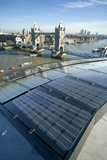 Solar Panels on City Hall  London  UK