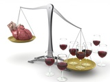 Red Wine And Heart Disease  Artwork