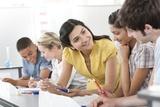 Teacher Helping Pupils