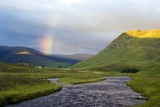 Rainbow Over River Clunie  Scotland
