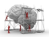 Brain with Workers  Mental Health