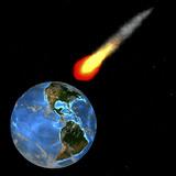 Meteor Impact  Computer Artwork
