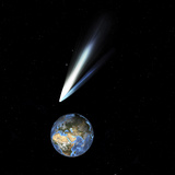 Comet Passing Earth