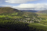 Braemar Village  Scotland  UK