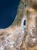 Israel  Satellite Image