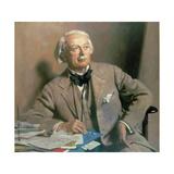 Portrait of the Rt Hon David Lloyd George