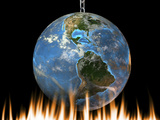 Global Warming  Conceptual Artwork