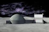 Moon Base  Artwork