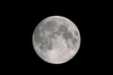 Full Moon Seen From Earth
