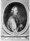 John Dryden (1631-1700) Engraved by Gerard Edelinck (1640-1707)