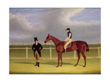 The Hon E Petre's 'Rowton'  Winner of the St Leger with Bill Scott Up  1829