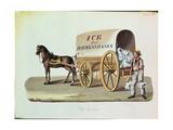 The Ice Cart  C1840