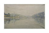 View of the Seine at Herblay  1889