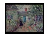 The Flower Garden  C1900