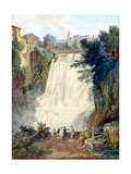 The Falls at Tivoli  1770