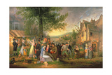 St James's Fair  Bristol  1824