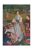 The Children's Holiday (Portrait of Mrs Thomas Fairbairn and Her Children) 1864-65
