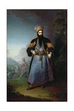 Portrait of Murtaza-Kuli-Khan (D1800) Brother of Aga-Mahommed  the Persian Shah  1796
