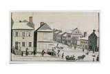 The Corner of Warren and Greenwich Street  1809