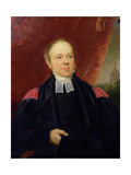 Portrait of William Buckland (1784-1856) Professor of Mineralogy at Oxford University and Dean of…