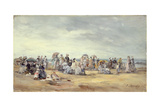 The Beach at Trouville  1873
