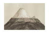 T1594 Cotopaxi  Drawn by Stock from a Sketch by Humboldt  Engraved by Edmond Lebel (1834-1908)…