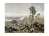 Victoria Falls of the Zambezi River (Illustration from Great Rivers Book  P30)