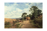 Landscape - Harvest Time  1865