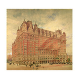 The Waldorf Astoria Hotel  1896