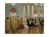 The Marriage of Tsar Nicholas II (1868-1918) and Alexandra Feodorovna (1872-1918) 1894