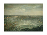 The Thames During the Great Frost of 1739